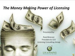 Money Making Power of Licensing